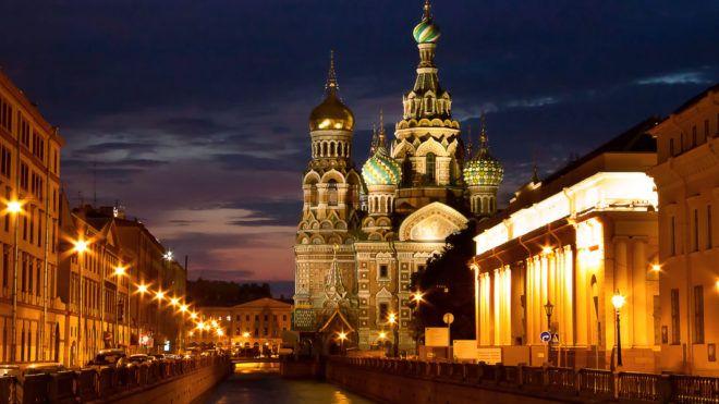 Cartoline da MOSCA e SAN PIETROBURGO